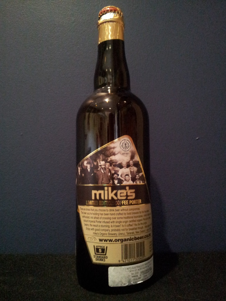 Mike's Limited Edition Coffee Porter